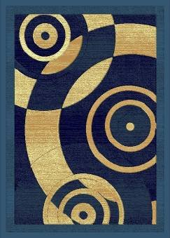 E515 Contemporary Modern Transitional Abstract Light Blue 8x10 8ft 10ft Rug Carpet Actual Size 7'9