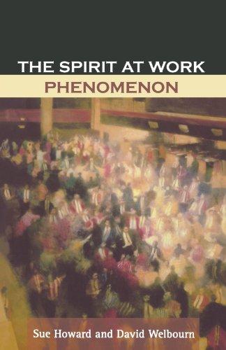 The Spirit at Work Phenomenon (Work At Spirit)