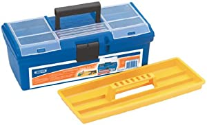 Draper 11496 14-inch Toolbox with Tote Tray