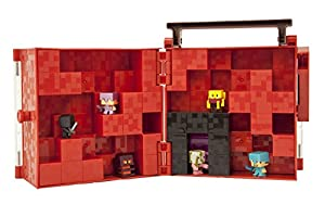 Minecraft Mini-Figure Nether Collector Case Accessory from Mattel