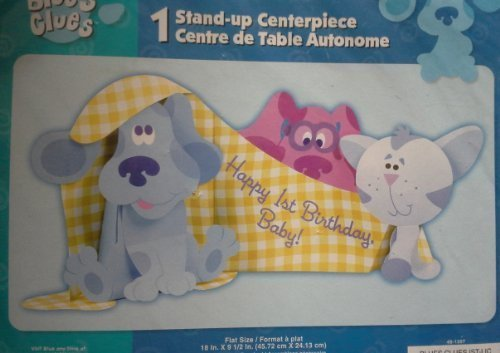 Blues Clues Stand Up Centerpiece - Happy 1st Birthday, Baby - 1