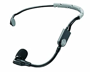 Shure SM35-TQG Wireless Performance Headset Condenser Microphone with Snap-fit Windscreen and TA4F (TQG) Connector by SHUK9