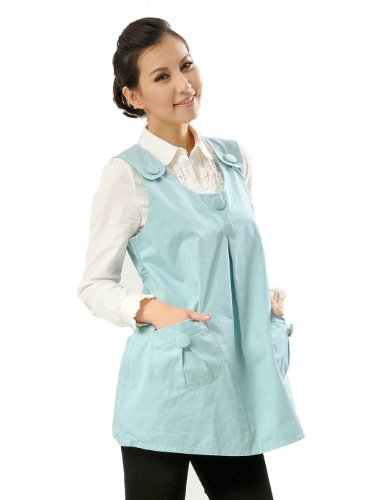 Anti-Radiation Maternity Clothes Top Baby Mom Protection Shield Dresses Blue 8903182 front-90555