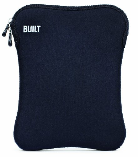 Built NY Neoprene Sleeve for 10-Inch e-Reader or Apple iPad (1st and 2nd Gen), Black (E-ES10-BLK)
