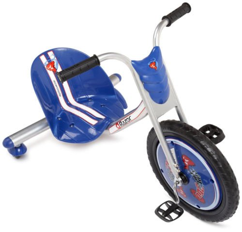 NEW! Razor Rip-Rider 360 Drifting Ride-On Tricycle Bike Trike Kid's Ride On BLUE (Baby Jack Jack From The Incredibles)