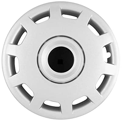 CCI IWC413-15S 15 Inch Clip On Silver Finish Hubcaps - Pack of 4