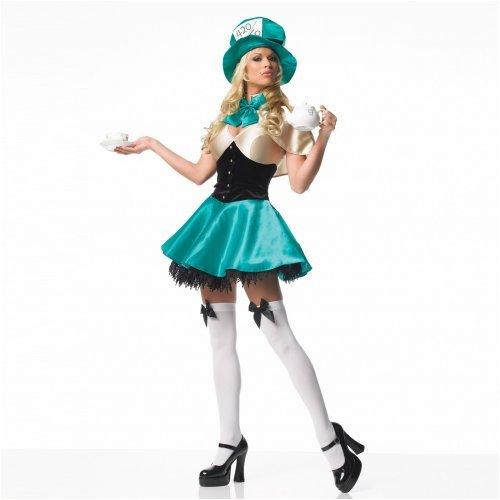 Womens Tea Party Hostess Halloween Costume