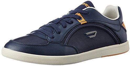 Diesel Scarpe Sneaker Uomo Pelle Stringata Eastcop Starch Blue Nights,42