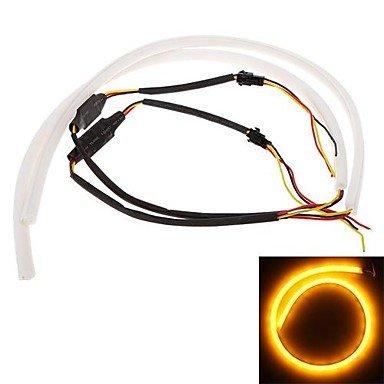 GDW 2*60cm LED Car Daytime Running Light Strip