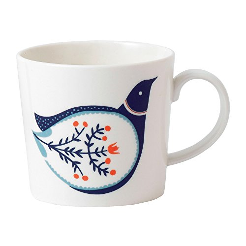 Royal Doulton Fable Decorated Fine Bone China Accent Mug Bird