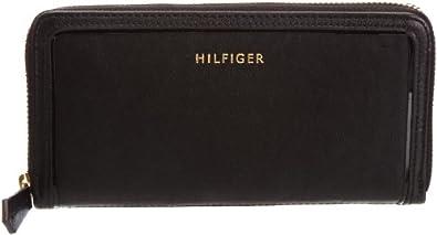 Tommy Hilfiger BEA L ZIP AROUND BW56921145, Damen Geldbörsen, Schwarz (BLACK 990), 19x10x2 cm (B x H x T)