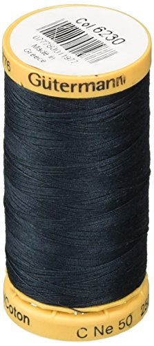 Natural Cotton Thread 273 Yards-Navy (Sewing Machine Thread Guterman compare prices)
