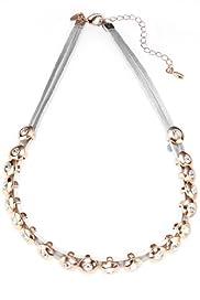M&S Collection Studded Multi-Faceted Diamanté Sparkle Necklace [T06-0693D-S]