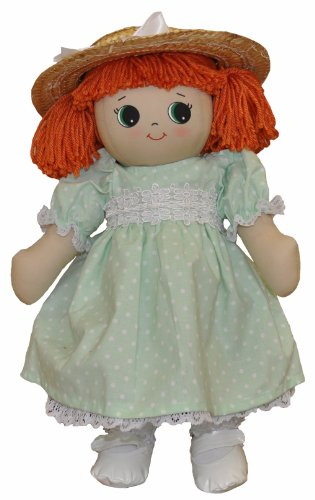 Adorable Kinders Deluxe Green Spring Dress