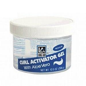 Long Aid Curl Activator Gel with Aloe Vera Regular 10.5oz.