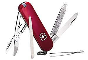 Victorinox Swiss Army Classic SD Pocket Knife, Red