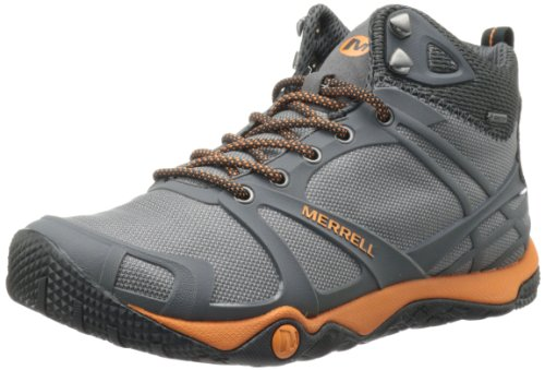 41ff6cf2c220 The Features Merrell Men s Proterra Mid Sport Gore Tex Hiking Boot Wild  Dove Tanga 12 M US -