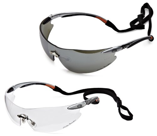 Harley-Davidson RHD800K Series Safety Eyewear with Hang Cords, 2-Pack
