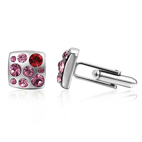 mens-cherry-pink-crystal-cufflinks-depot-tresor-cufflinks-made-with-swarovski-crystal-for-men-cherry