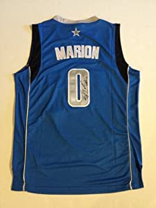 Dallas Mavericks SHAWN MARION NBA Champ Signed Autographed NBA Jersey COA by Basketball
