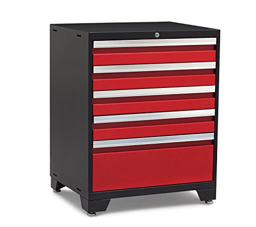 NewAge Products 52204 Pro 3.0 Series Tool Cabinet, Red (Trades Pro Tools compare prices)