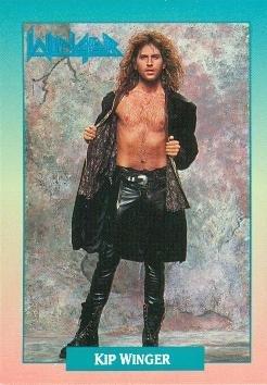 Kip Winger trading Card (Winger) 1991 Brockum Rockcards #152 at Amazon