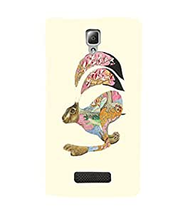 EPICCASE Artistic rabbit Mobile Back Case Cover For Lenovo A2010 (Designer Case)