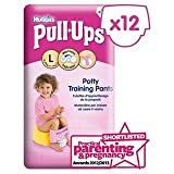 Huggies Large Pull-Ups for Girls 12 per pack