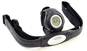 Buy GSI Super Quality All-In-One Heart Rate Monitor Watch and Transmitter Chest Belt - For Exercise, Sports, Running,... by Pulse Sonic