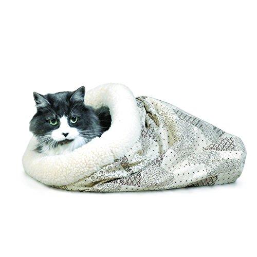 K Amp H Kitty Crinkle Sack Cat Bed