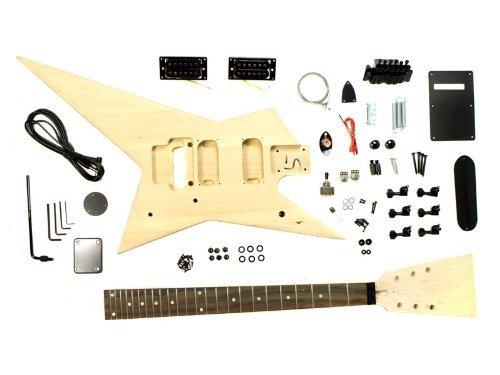 Stellah Heavy Metal Star Electric Guitar Kit Diy Project
