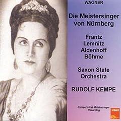 Wagner: Die Mesitersinger [UK-Import]