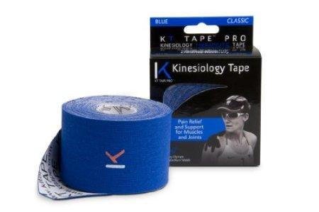 Kt Tape Original Cotton Elastic Kinesiology Theraeputic Tape - 240 Inch Uncut Roll, Blue
