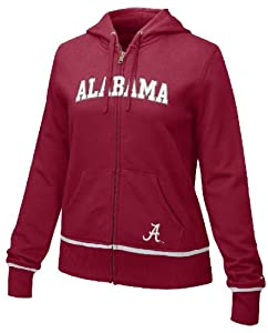 Alabama Crimson Tide Ladies FZ Full-Zip Embroidered Hoody By Nike by Nike