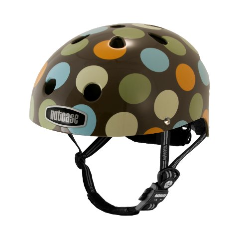 Nutcase Little Nutty Modern Dots Kids Bike Helmet,