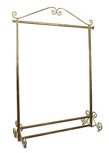 Brand New Free Standing Decorative Antique Bronze Iron Garment Coat Rack (Y002C BRONZE) 0
