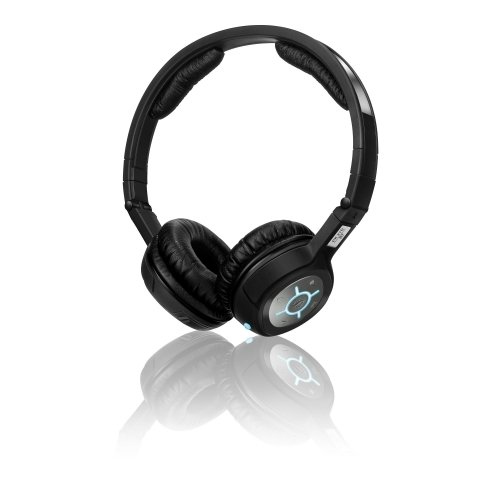 Sennheiser Portable Mini Headphones with Bluetooth for iPod / iPhone / MP3 Devices - Black