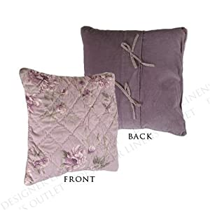 Amazon.com - Liz Claiborne Heather Decorative Quilted Stuffette Pillow - Throw Pillows