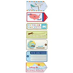 Travel Tag Stickers