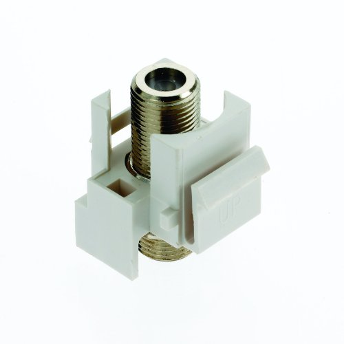 ON-Q / Legrand F3481-WH-V5 Video F-Connector, White