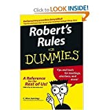 img - for Roberts Rules For Dummies - 2004 publication. book / textbook / text book