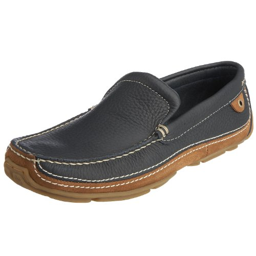 Chatham Marine Men's Cannes Boat Shoe Navy/Beige D827-110 11 UK