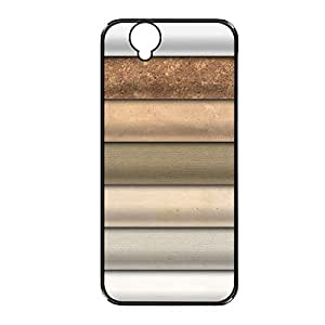 Vibhar printed case back cover for Sony Xperia C3 ShadesofBrown