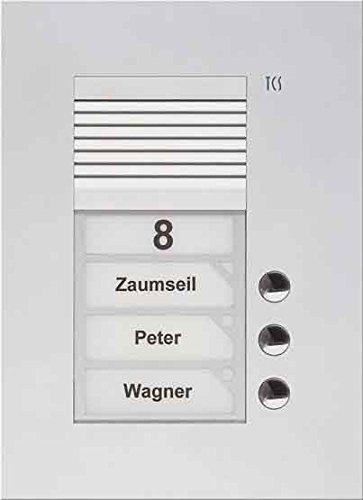TCS Tür Control Audio Außenstation PUK 3 PUK03/1-ES Tasten 1spaltig UP e Türlautsprecher 4035138012768