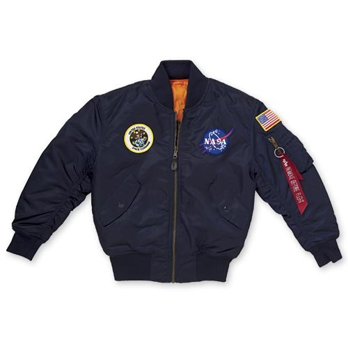 NASA Jacket Youth Nvy L