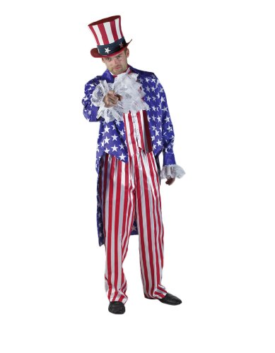 Men's Deluxe Uncle Sam Theater Costume