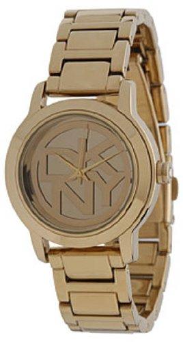 DKNY FALL 13 ny8876 Gold Tone Steel Bracelet & Case Acrylic Women's Watch