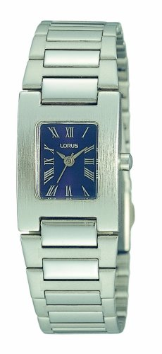 Lorus Ladies Watch Silver Tone black Dial #RRS41BX9
