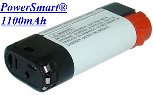 Powersmart® Black & Decker Vpx1101, Vpx1101X, 7V 1100Mah Li-Fe Replacement Vpx0111 Battery