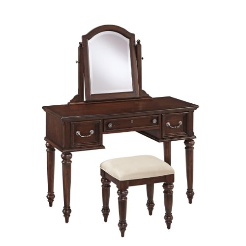 Home Styles Colonial Classic Vanity And Bench front-585718